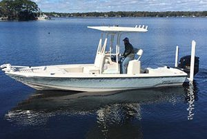 Shallow Minded Fishing Charters Boat